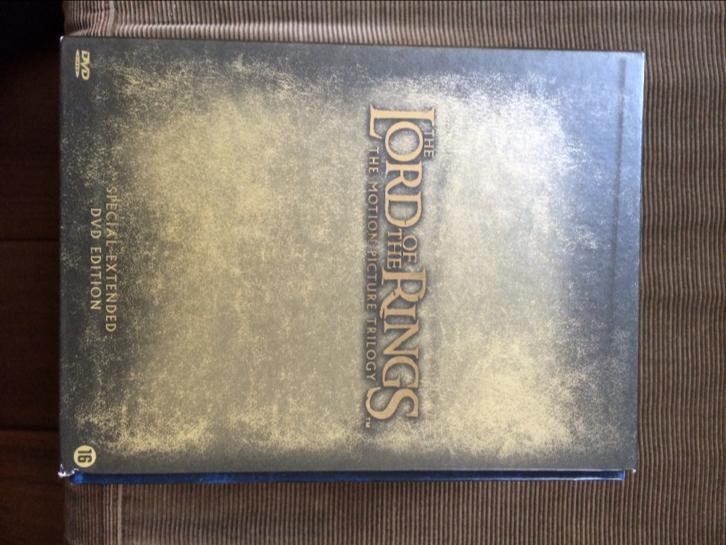 Lord of the rings dvd box special extended edition