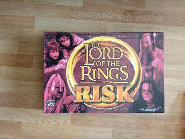 Lord Of The Rings Risk Parker 2002