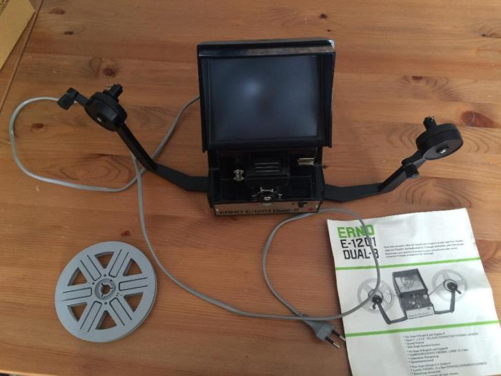 Erno E-1201 D8 8mm editor/viewer