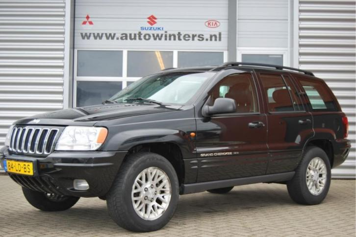 Jeep Grand Cherokee 4.7I V8 LIMITED ECC-Airco 4WD Automaat L