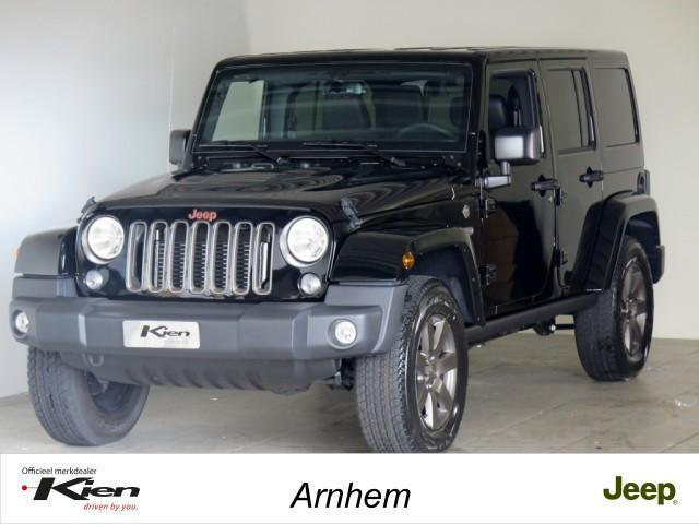 Jeep Wrangler Unlimited 2.8 CRD 75th Anniversary Automaat/Na