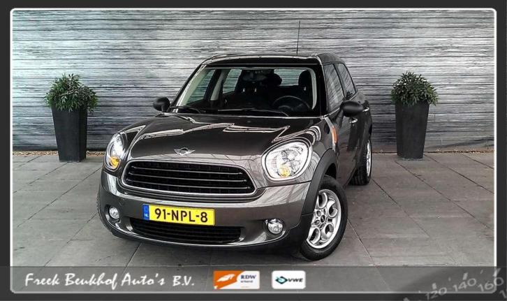 Mini Mini Countryman 1.6 One Pepper Airco Radio cd Sportvelg