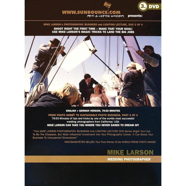 Mike Larson DVD-3: Photographic Business and Lighting