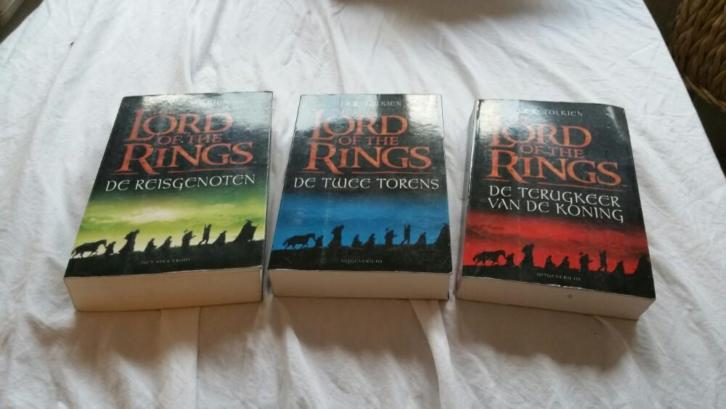 Lord of the rings - deel 1, 2 en 3