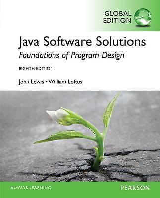 Java Software Solutions: Global Edition 9781292018232