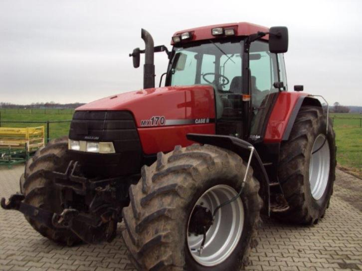 Case mx170 Deutz 4506 5206 voorlader ihc International 453