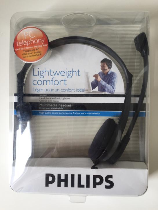 Philips webcam incl headset