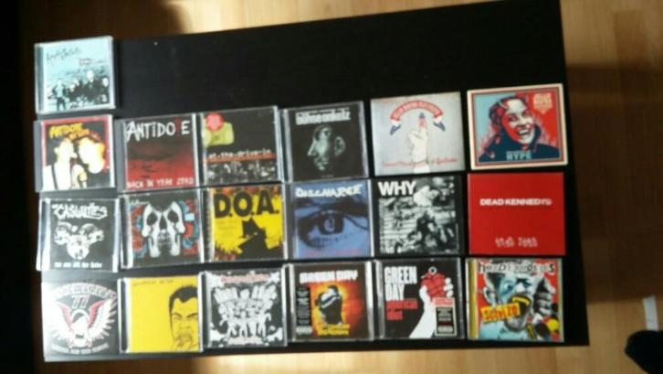 collectie punk cd's 4 euro per stuk