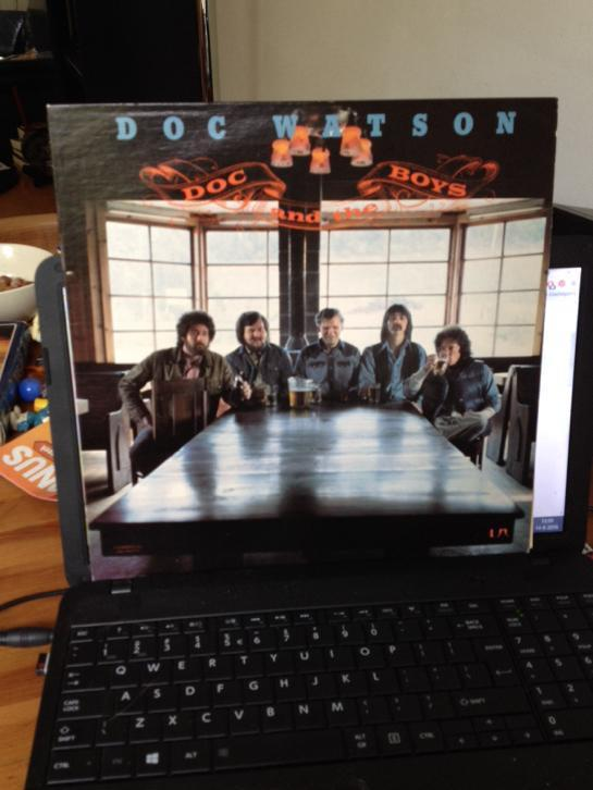 Lp doc watson, doc and the boys