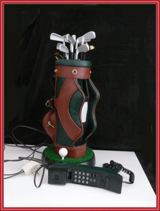 Golf bag - uniek model vaste telefoon