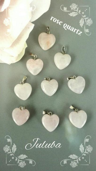 hanger rose quartz