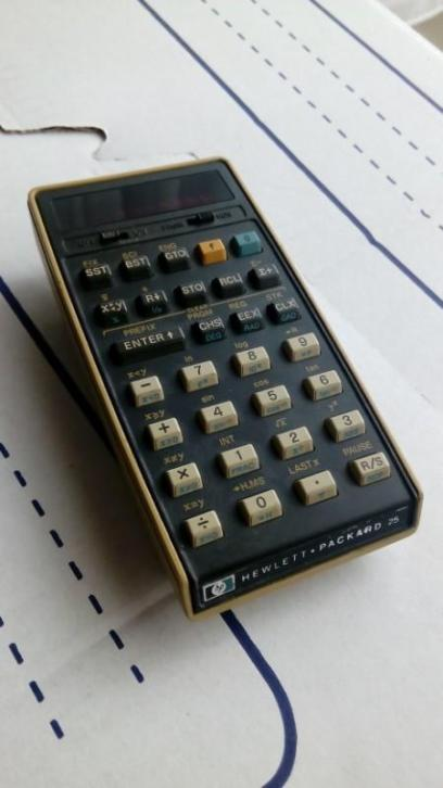 calculator hp 25