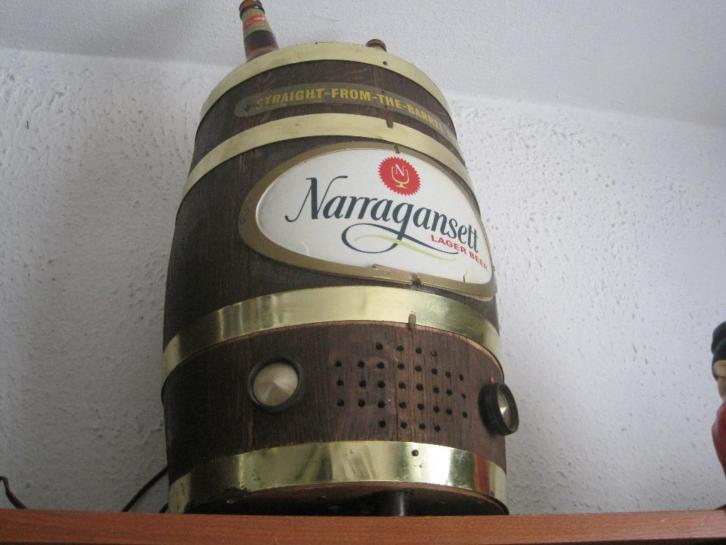 Narragansett Beer Barrel Radio.