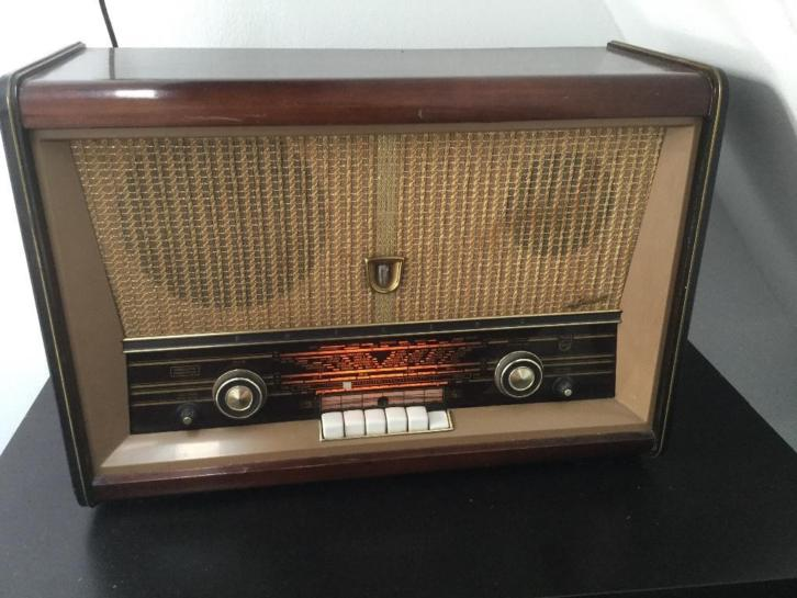 Philips oude radio