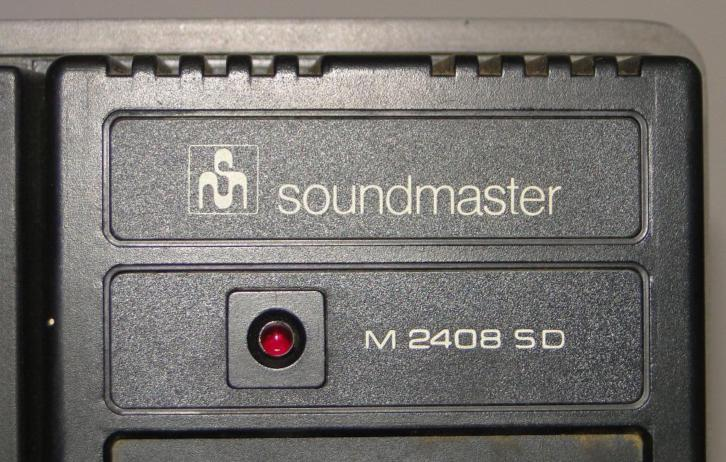 4 sporen bandrecorder Unitra Soundmaster M 2408 SD