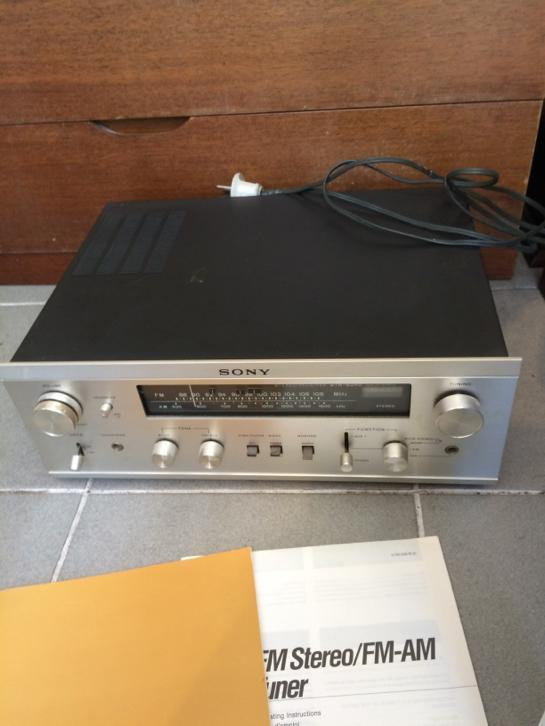 Stereo tuner Sony