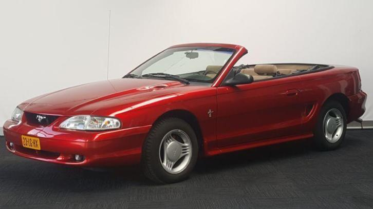 Ford Mustang Cabriolet 3.8L V6 Aut. - youngtimer - Airco - i