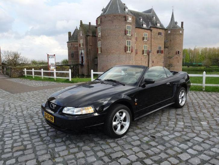 Ford USA Mustang cabrio 3.8i V6 Cabriolet Automaat Hessing g