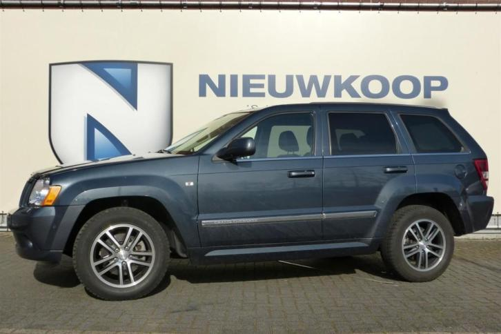 Jeep Grand Cherokee 3.0 V6 CRD Limited (bj 2009, automaat)