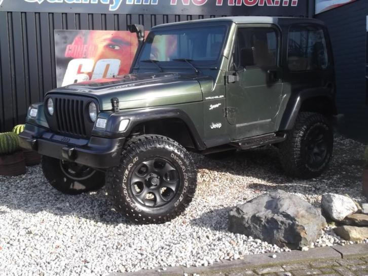 Jeep Wrangler *THE FOREST GREEN JEEPIE* (bj 1998)