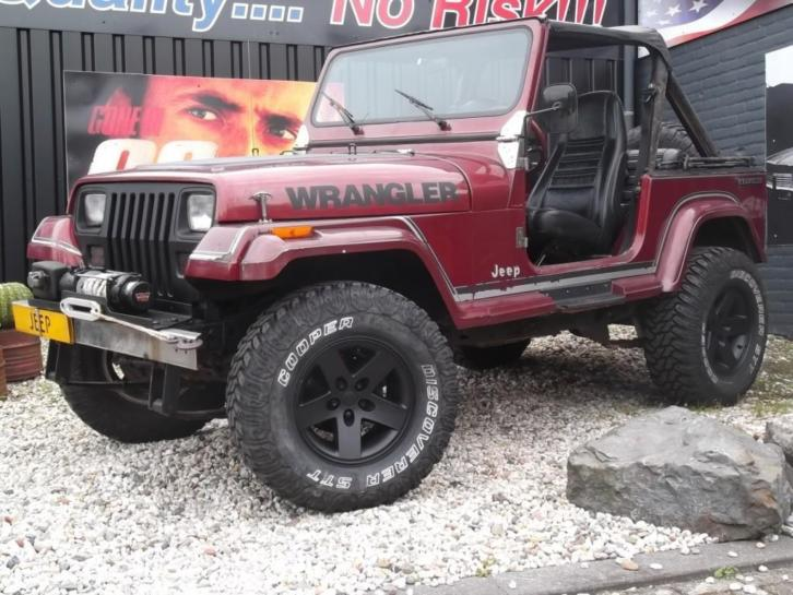 Jeep Wrangler *THE VINTAGE AUTOMATIC* 4.0i H.O. (automaat)