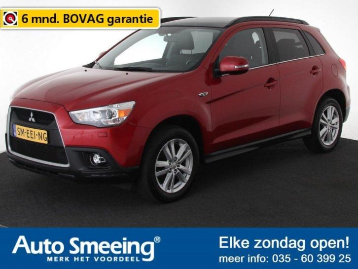Mitsubishi ASX 1.6 Instyle ClearTec Navigatie Leder Panorama