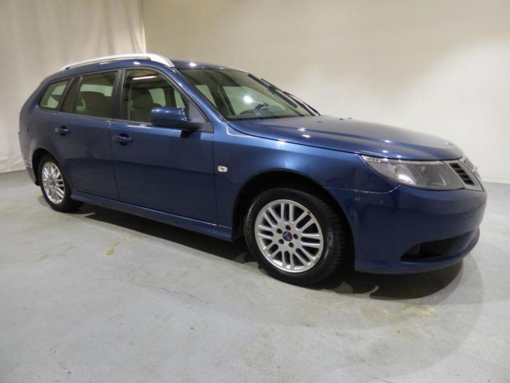Saab 9-3 1.9 TTiD Leder Navi Cruise Vector Estate (bj 2009)