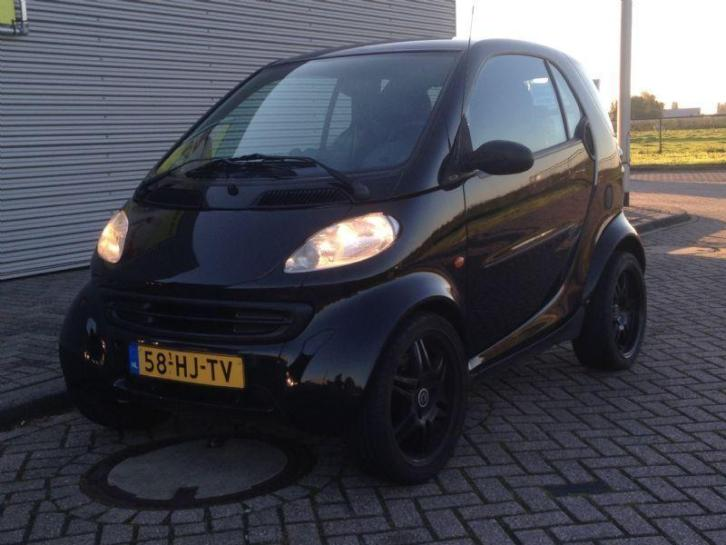Smart city-coupe smart & pulse Zwart 146dkm NAP Nieuwe APK!