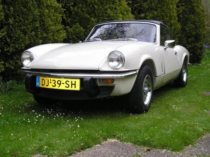Triumph Spitfire 1.5 TC Old Englisch With