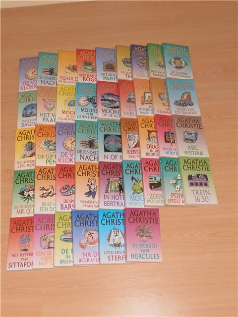Complete serie Agatha Christie serie in goede staat