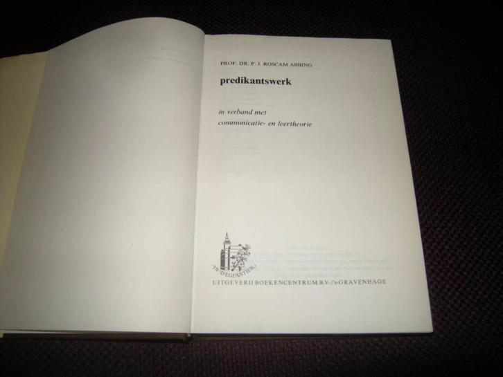 Predikantswerk in verband met communicatie- en leertheorie