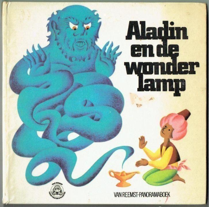Pop Up Boek-Aladin en de wonderlamp