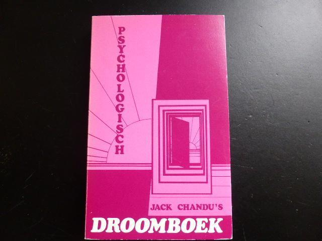 Psychologisch droomboek.. door Jack.F. Chandu