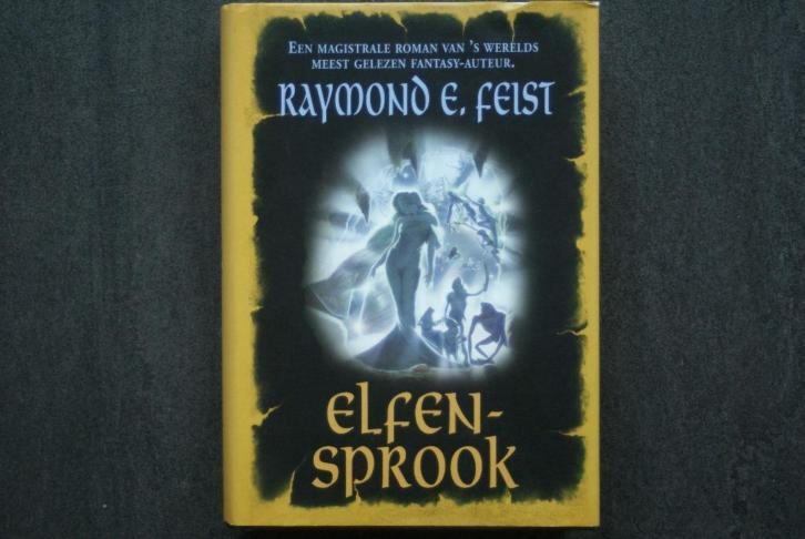 Elfensprook... Raymond E. Feist.. (hardcover).