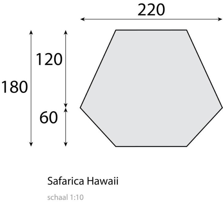 *Tip* Safarica Hawaii Strandtent