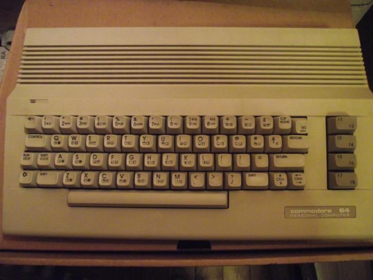commodore 64 PC compleet