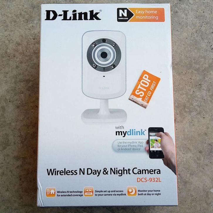 D-Link 'Wireless N' wifi app 'Day & Night Camera' webcam [0z