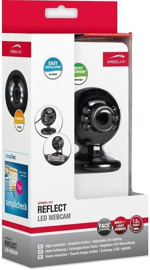 Speedlink Reflect Led Webcam, black