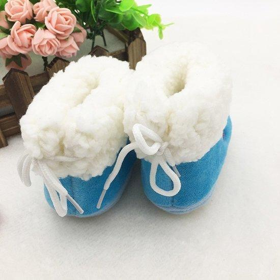 Baby Girl Warm Boots Newborn Toddler Soft Shoes Winter An...