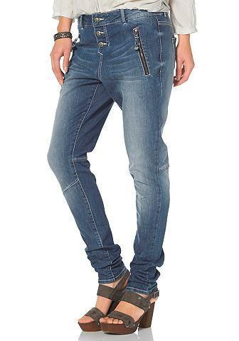 TOM TAILOR POLO TEAM Boyfriend-jeans in wijd model