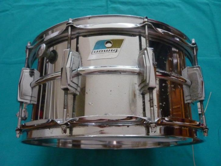 "1971 LUDWIG L402 Supraphonic, snare drum 14"" x 6.5"" The Clas"