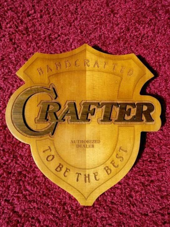 Crafter authorized dealer bord