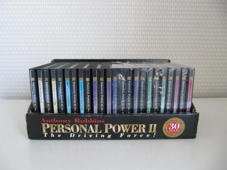 24 cd box Antony Tony Robbins PERSONAL POWER 30 day program