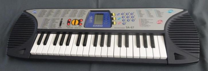 CASIO SA-67 Song bank keyboard L65cm