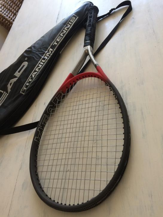 Head tennisracket met tas