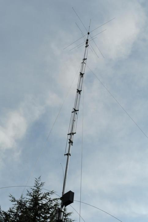 Hy-gain AV-640 Vertical 8 Band Antenne