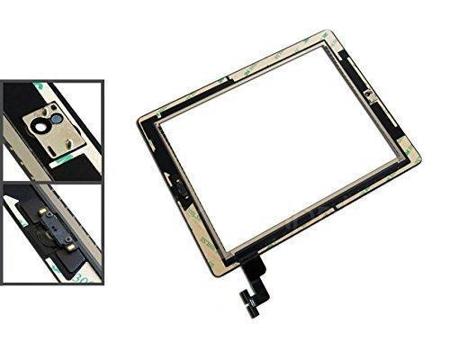 Apple iPad 2 zwart digitizer touchscreen glas met toolkit
