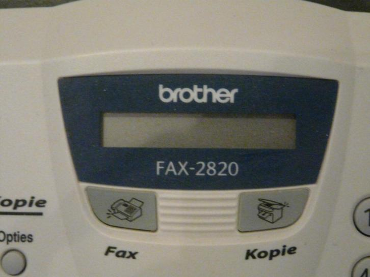 Brother fax type 2820