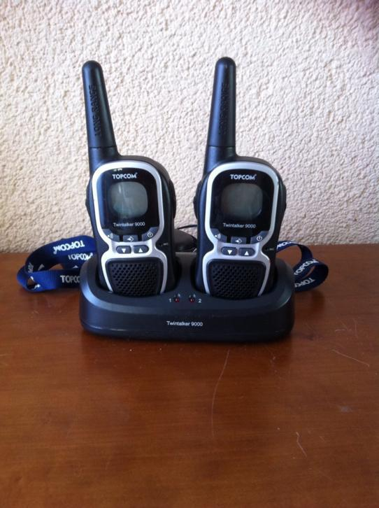 Walkie Talkie: Topcom Twintalker 9000