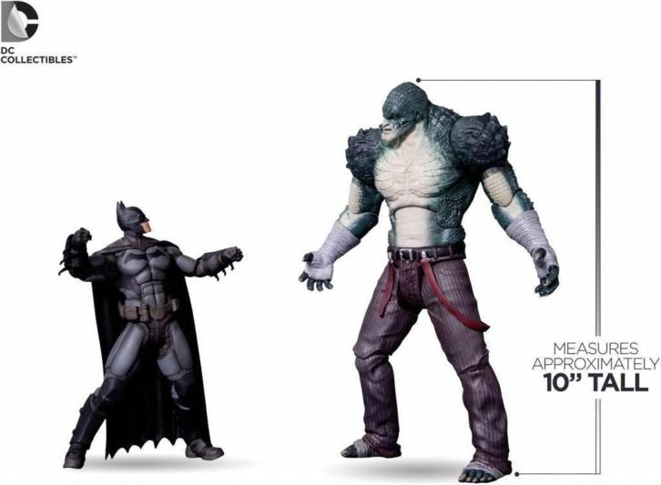 Batman Arkham Origins Deluxe Action Figure Killer Croc